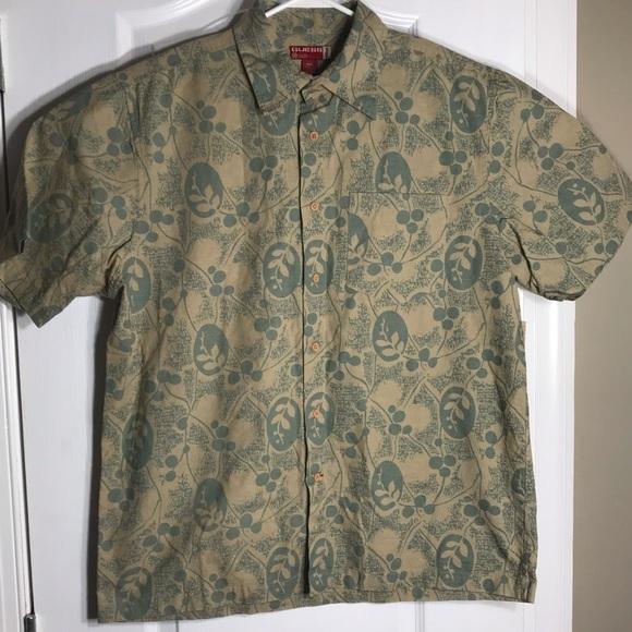 Guess Other - Guess Jeans Cotton Hawaiian Button Shirt Medium